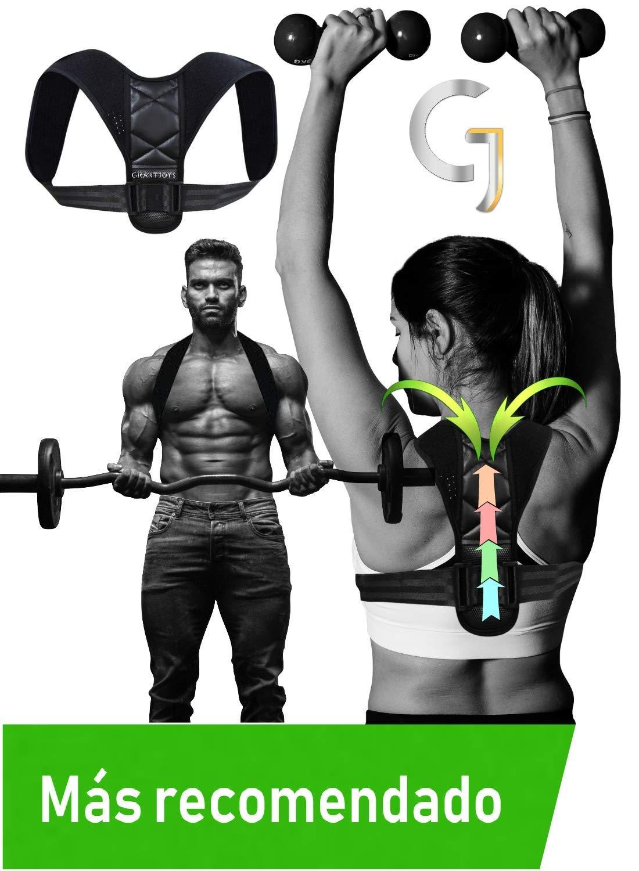 corrector de postura para fitness y ejercicio